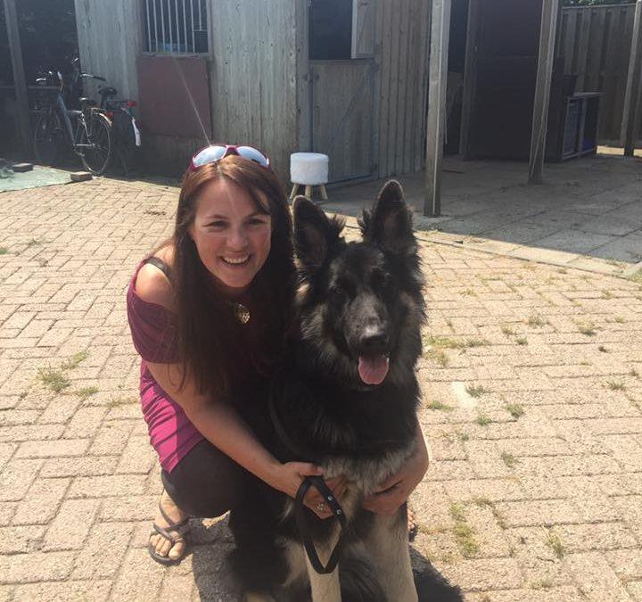 Annemiek krijgt andere geleidehond