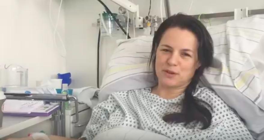 Annemiek in het ziekenhuis