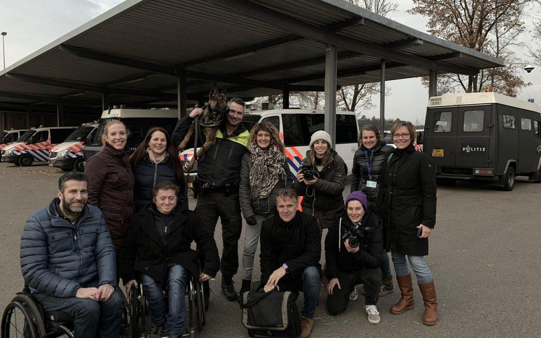 Annemiek maakt 'Achter de schermen'-vlogs van 'De Angstbaas'/KRO-NCRV