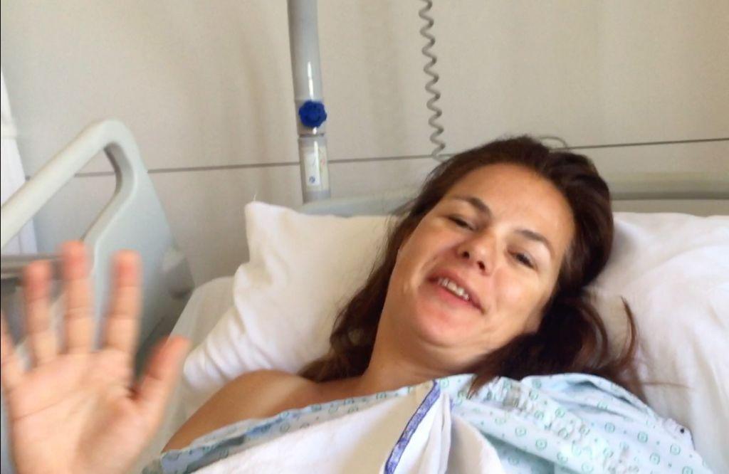 Annemiek weer geopereerd